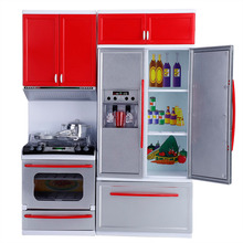 Multi-functional Kids Kitchen With Music Pretend Play Toys