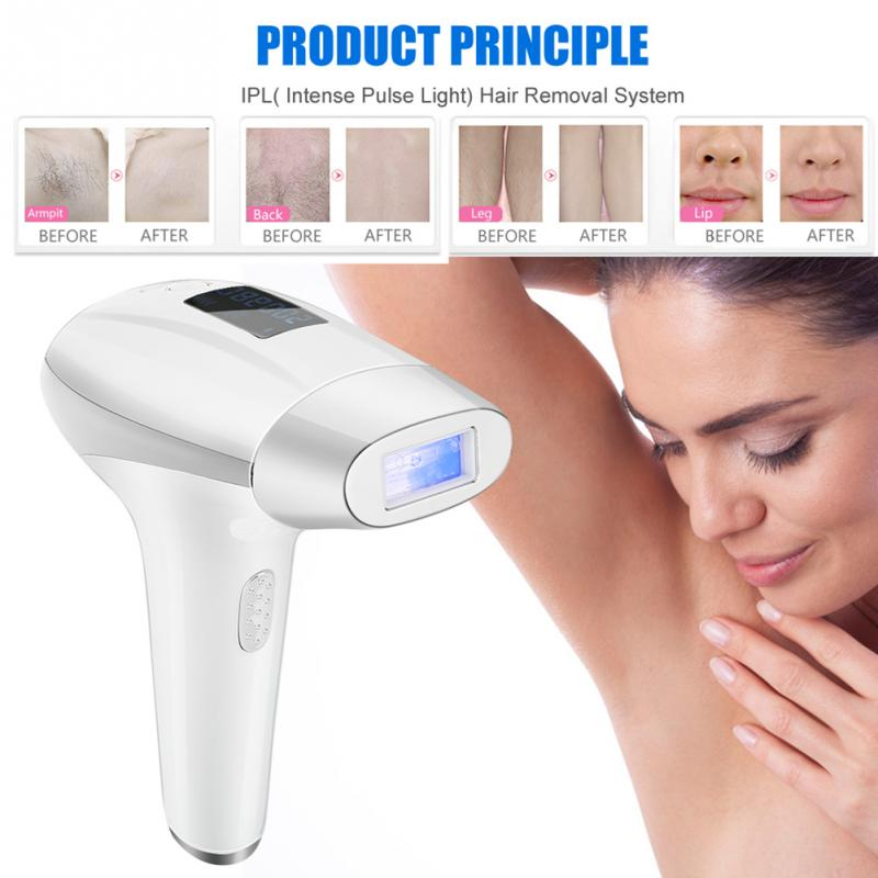 Permanent Laser Hair Removal IPL Laser Epilator Device Depilador Facial Hair Remover For Women Man Face Body Hair Removal Device