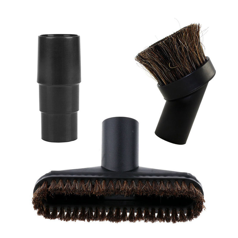 Assorted Vacuum Cleaner Brush Head Nozzle Horsehair Replacement Parts With 32/35Mm AdapaterAssorted Vacuum Cleaner Brush Head Nozzle Horsehair Replacement Parts With 32/35Mm Adapater