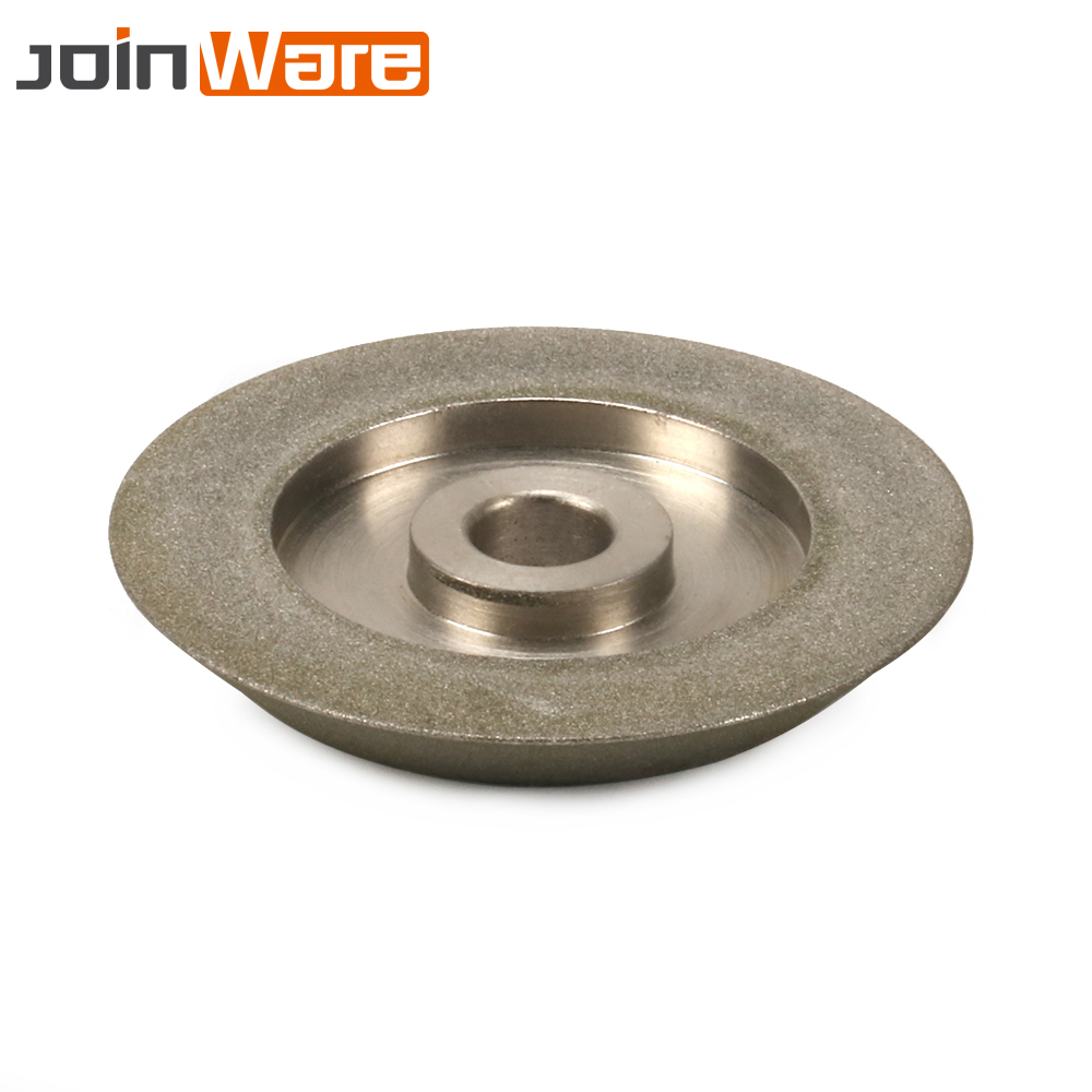 "3/"" Diamond Grinding Wheel 60 Degree Abrasive Disc for Hard Alloy 150#"
