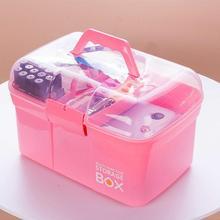 Трехслойный функциональный пластиковый многофункциональный контейнер для макияжа стойка для лака для ногтей настольные косметические инструменты полка контейнер
