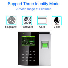 купить Time Attendance System Biometric Reader TCP/IP USB Fingerprint Access Control Clock Employee Device Office Attendance Machine по цене 9416.02 рублей