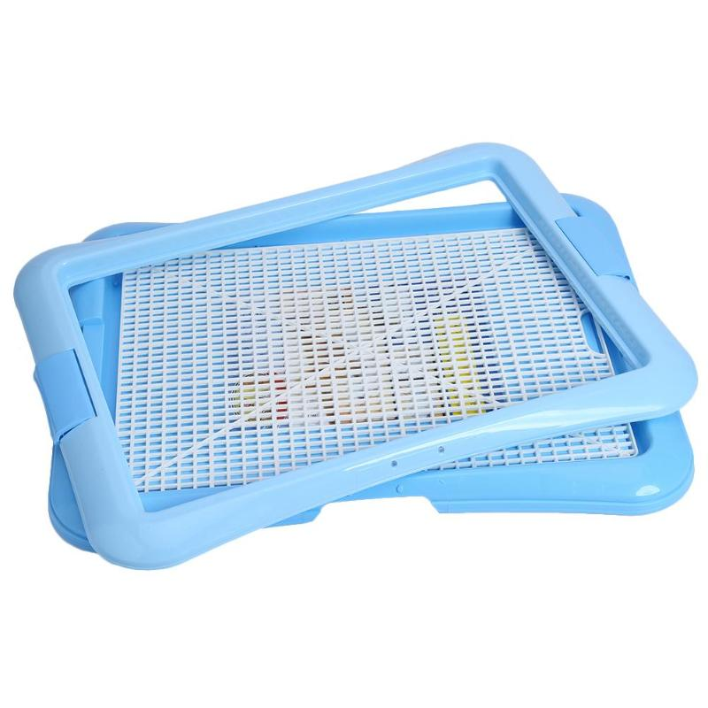 Lattice Dog Toilet Potty Pet Toilet for Dogs Cat Puppy Litter Tray Training Toilet Easy to Clean Pet Product