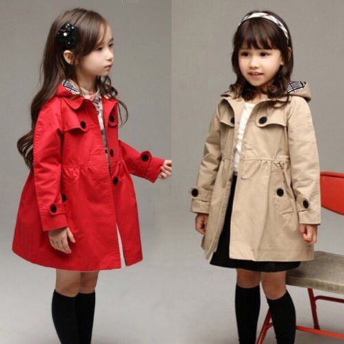 Baby Girl Parka Coat