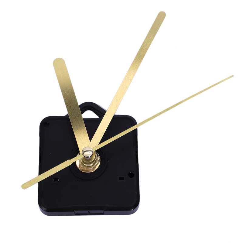 1 Pack Replacement Wall Clock Hands Diy Repair Parts Pendulum Movement Mechanism Quartz Clock Motor With Hands & Fittings Kit
