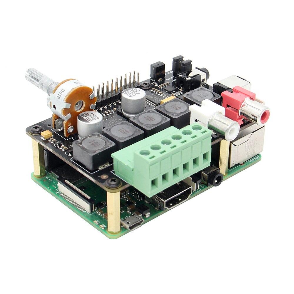 Amplificateur LEORY X400 V3.0 DAC + Module amplificateur Full HD classe-d I2S carte d'extension Audio PCM5122 pour Raspberry Pi