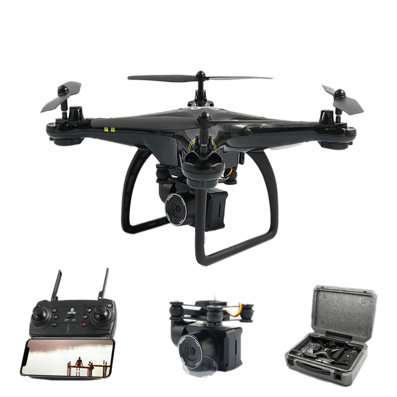 Global Drone Gw168 Gps Remote Control With Camera Hd 1080p Rc Helicopter Wifi Fpv Quadrocopter Altitude