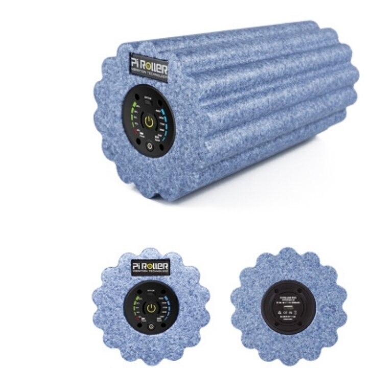 2200 mAh 5 vitesse vibrant rouleau en mousse professionnel vibrant électrique rouleau déclencheur Muscle Relax Yoga Gym exercice masseur - 5