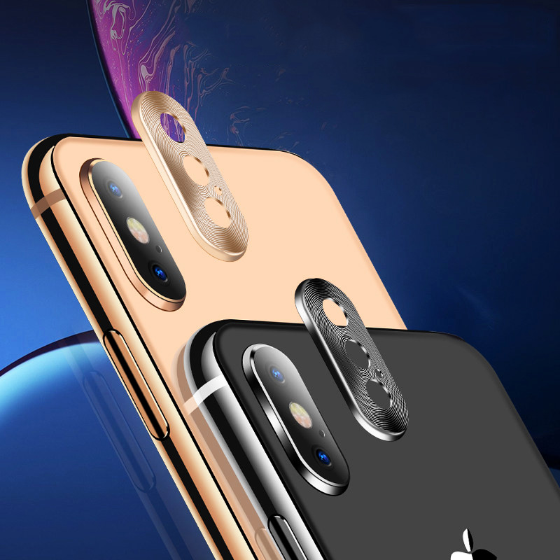 JONSNOW Metal Camera Lens Protector for iPhone X XS XR Max 360 Full Protection Anti-scratch Protective Cover