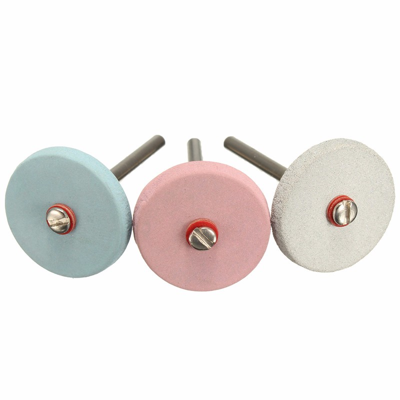 3mm Shank 22mm 240/320/600 Grit Electric Grinding Wheel Flexible Polishing Wheel Polishing Disc Pad For Electric Grinding Tools