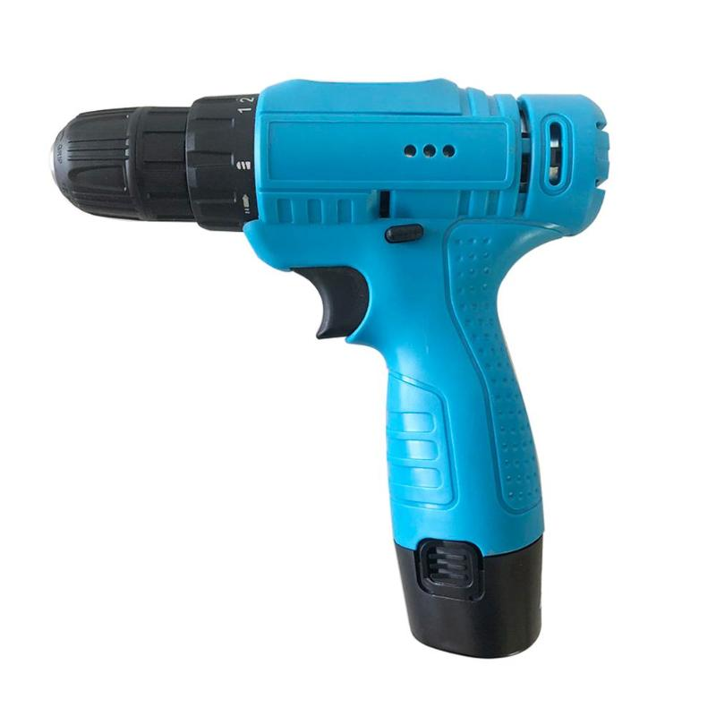 ABS alloy 950g 12V 195*185*45mm/7.68*7.28*1.77 Lithium Cordless Electric Drill Multi function Electric Screwdriver