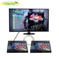 yinglucky Pandora 3D Box 2200 SANWA Games Zero Delay 8 Buttons Joystick PCB Controller 100Pcs 3D Retro Games Arcade Console