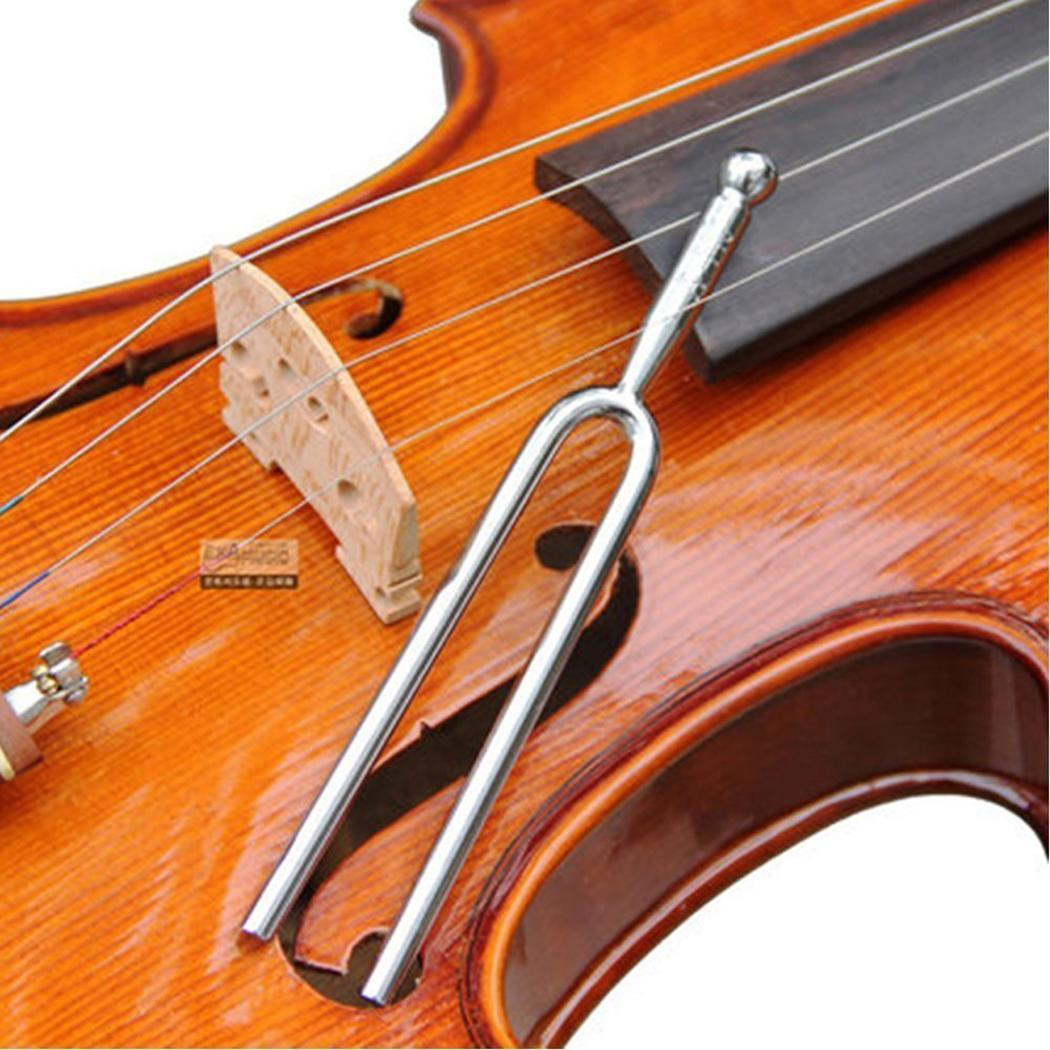 Tuning Fork Standard A 440 Hz Violin Viola Cello Tone Tuner Stainless Steel Tunning Musical Instrument