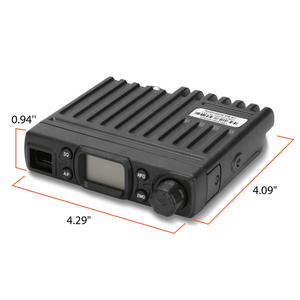 Image 3 - Radioddity CB 27 CB Radio Mobile 40 Channel AM Instant Emergency Channel 9/19 PA System RF Gain with Microphone License free