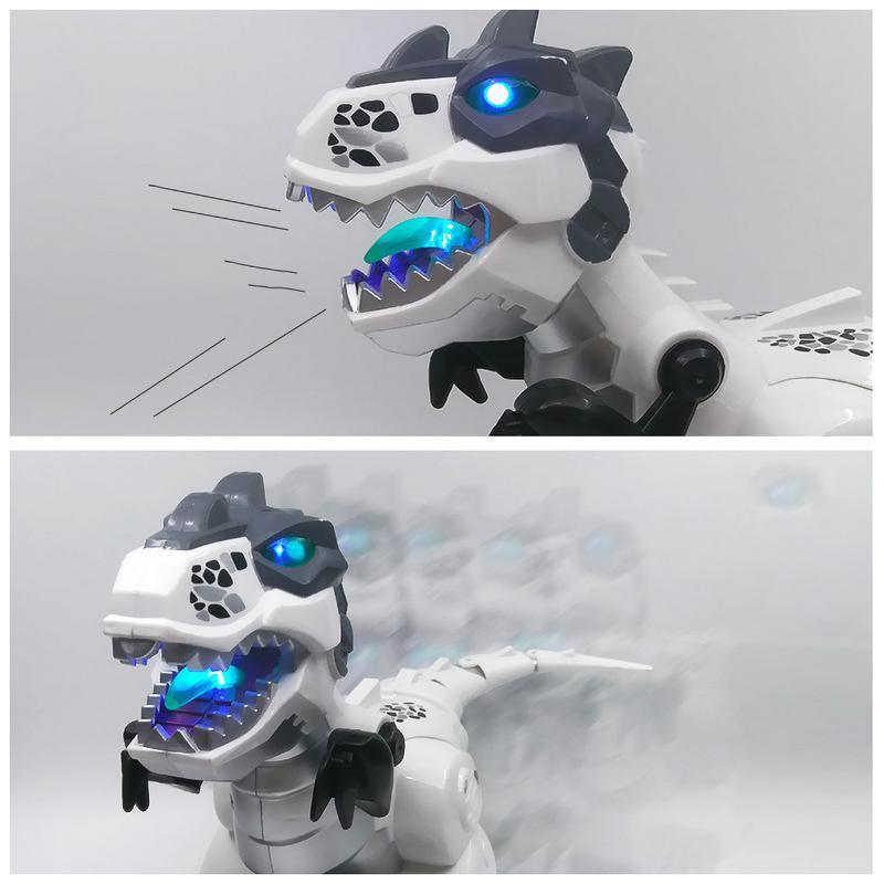 Intelligent RC Electric Dinosaur Toy Oversized Simulation Animal Toy Tyrannosaurus Rex Walking Voice Remote Control Robot Toy