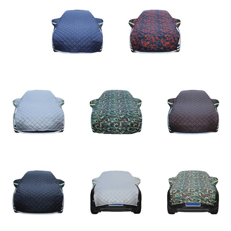 Haute Qualité Épaissie Coton Couverture De Voiture Hiver Neige Protection Anti-Gel Résistant à l'usure Couverture De Voiture Rapide Livraison