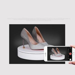 Image 5 - 32 см умный пульт дистанционного управления Скорость направления 360 градусов авто вращение фотографии Вращающийся Поворотный Дисплей Стенд высокое качество