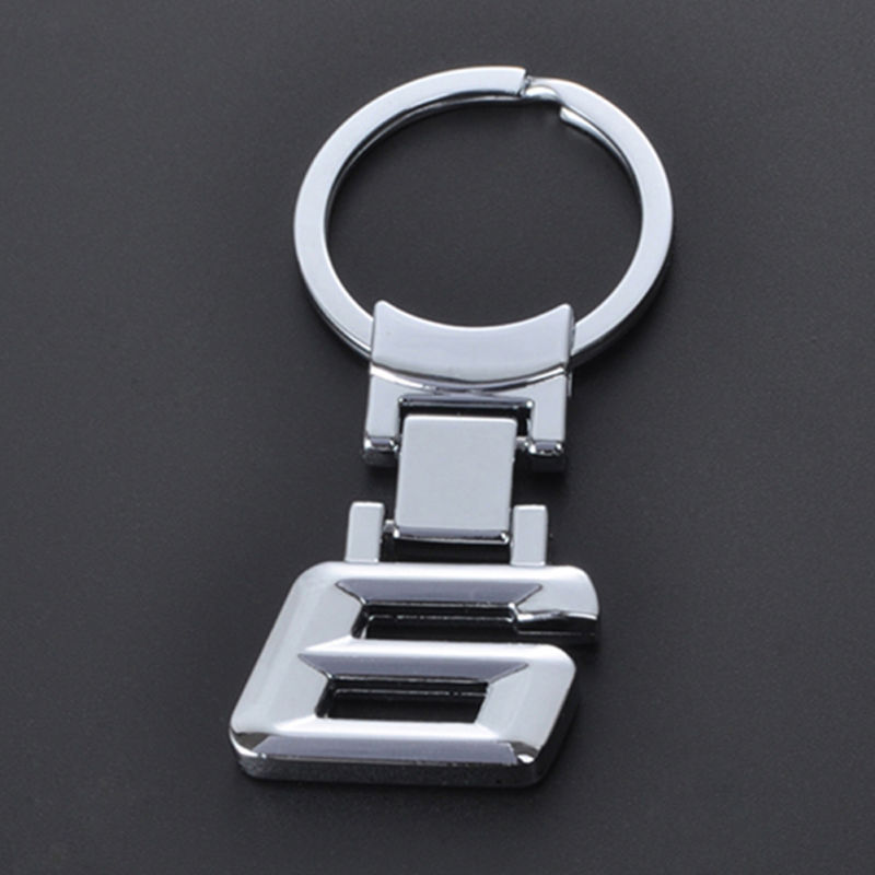 3D Car Logo Keychain Metal Key Holder Keyring for BMW X1 X3 X4 X5 X6 Z4 M3 M5 M6