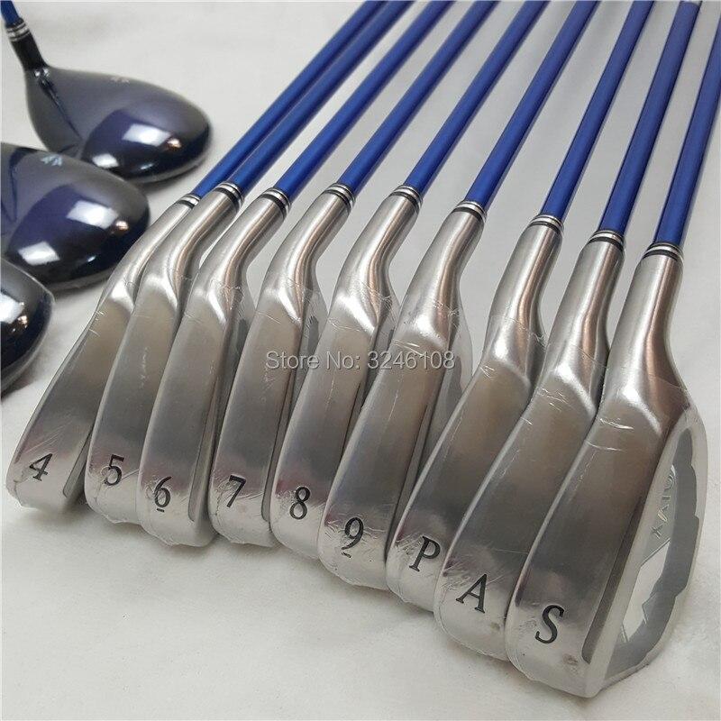 Clubs de Golf hommes de MP 1000 Fers de Golf set 4-Un S Fers Graphite shaft Golf Clubs Livraison gratuite