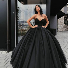 Vintage 2020 gótico negro vestidos De novia nuevo Vestido De baile dulce Simple Vestido De novia país Vestido De novia