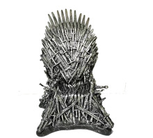 31CM Newest Big Size Movie The Iron Throne action figure GAME OF THRONES Figure Collectible Chair Model the iron throne model in game of thrones figure collective toys