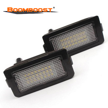 2pcs/lot For BMW 7 Series E38 740i 740iL 750i 750iL 1994-2001 24LED Car LED License Plate Light Tail Light Assembly 3528SMD image