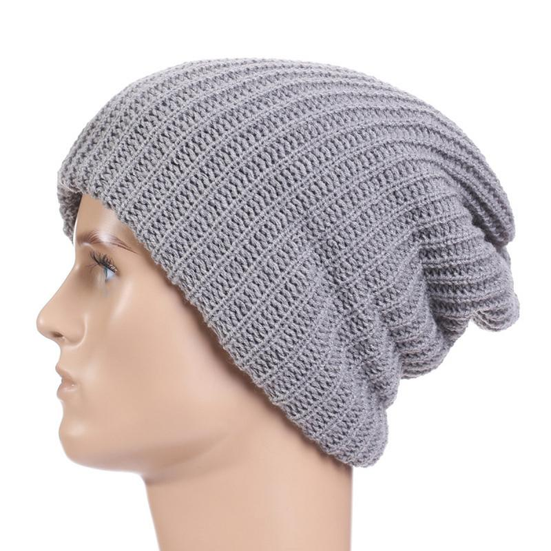 a9c431b33e1 Promotion Hip-Hop Cap For Men And Women Knitted Wool Hats Outdoor Knitted  Caps Autumn And Winter Warm Hat Headgear ~ Super Sale April 2019