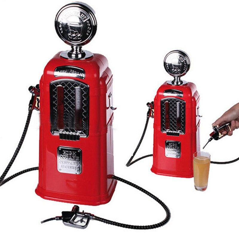 1 литр с двумя пистолетами помпа для напитков Автозаправка дозатор пива алкоголя жидкости мягкая автомат для продажи напитков машины пивно