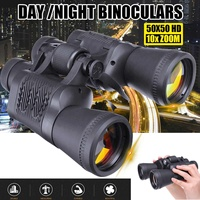 50X50 Army Zoom Telescope with Belt Filter High Power High Definition Binoculars Optics Hunting Camping Travelling Day/Night