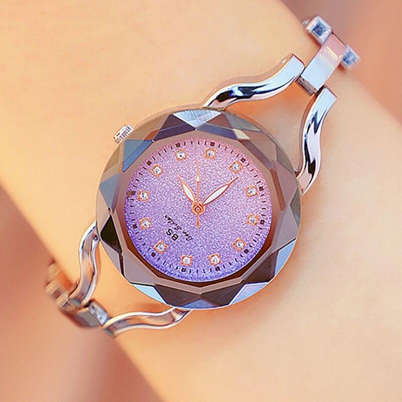 Luxury Women Watches Ladies Rhinestone Watch Female Starry Sky Quartz Wristwatch Montre Femme Relogio Feminino Girls Hour 2019