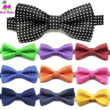 100PCS Pet Cat Dog Bow Tie Polka Dot Adjustable Buckle Neck Ties Collar Polyester Kitten Puppy Decoration Accessories Wholesale