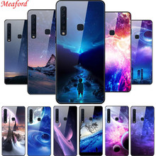 цены A9 2018 Phone Case For Samsung A9 2018 Case Glass Hard Back Cover For Samsung Galaxy A9 2018 Case A 9 9A A9S A920 Soft TPU Frame