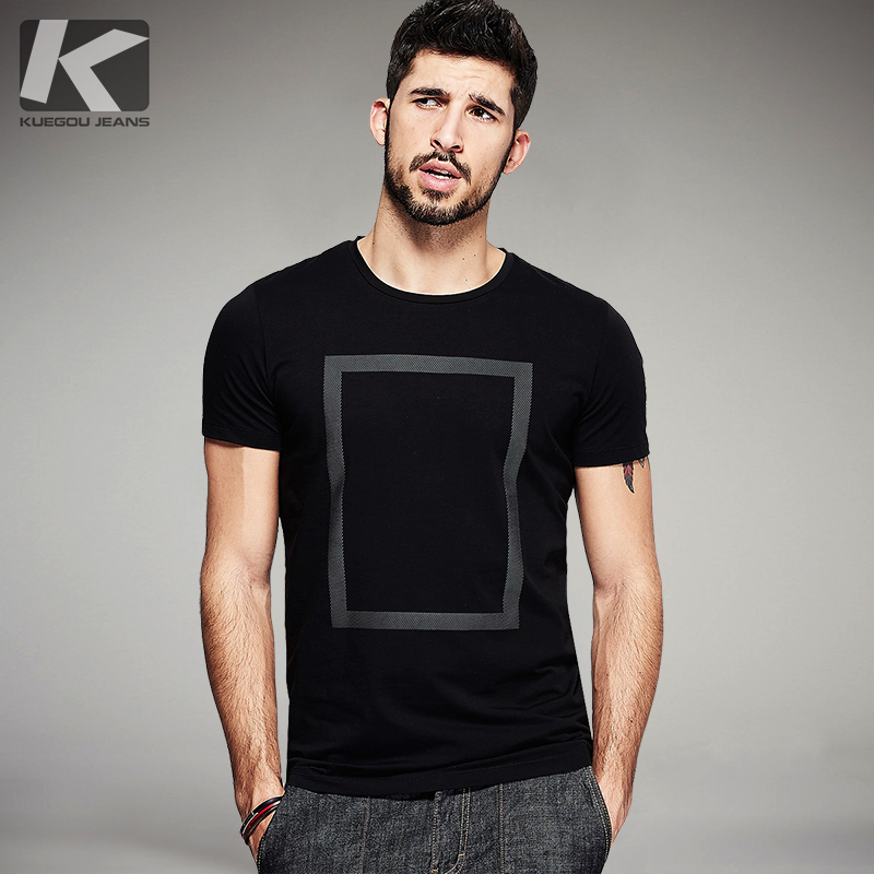 Summer Mens T Shirts Cotton Print Black White Color For Man Pendek Sleeve Fesyen T-Shirt Lelaki Plus Saiz Tops Tee Shirts 1613