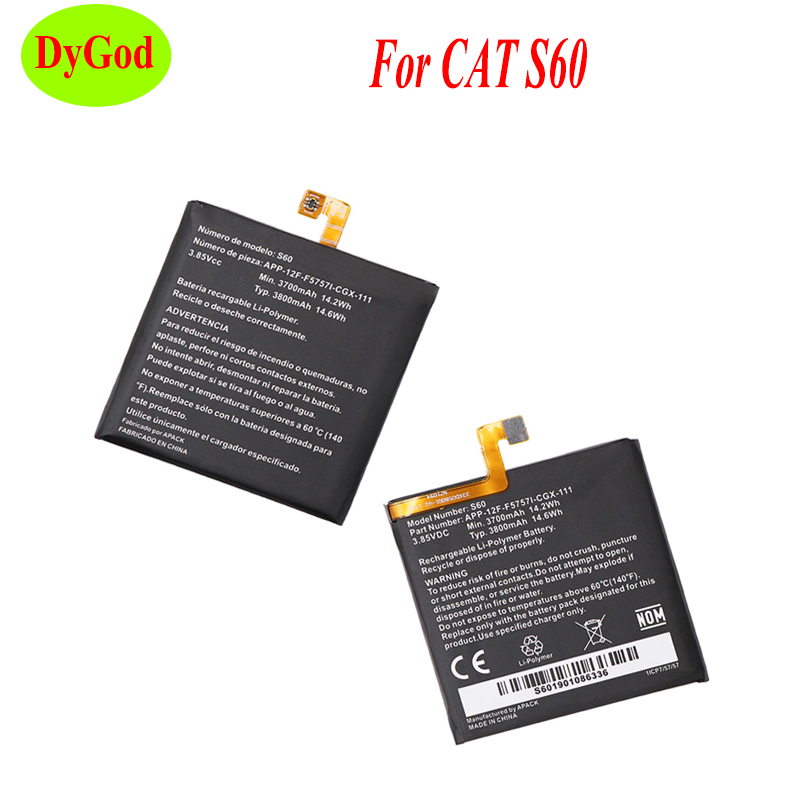 3700mAh For CAT S60 Battery Mobile Phone High Quality Replacement Backup Li-polymer Batteria For CAT S60