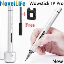 Wowstick 1P Pro Mini Draadloze Elektrische Schroevendraaier Precisie Batterij Aangedreven Schroevendraaier 20 Pcs S2 Magnetische Schroevendraaier Bit Set
