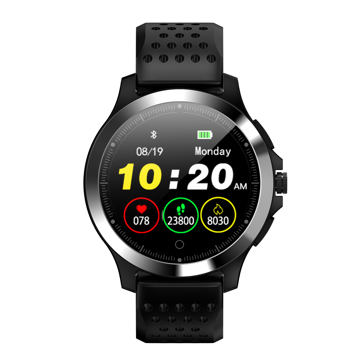 W8 ECG+PPG Heart Rate Smart Watch Men Women HRV Check 306 Full Steel Multi reminder Water Clock Sport Fashion Smart Watch Band