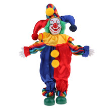 Porselein Clown Pop Voor Kids Toy Gifts Halloween Kerst Home Decor Souvenirs Collection Arts #1(China)