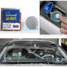 Free Shipping 1PCS Pack Windshield Cleaner(1PCS=4L Water) Wiper Solid glass water for kia BMW AUDI lada TOYOTA SKODA Accessories cheap PUOU Front Windshield Words Other Other 3D Sticker Stickers Not Packaged