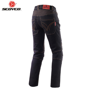 SCOYCO Riding Motorcycle Pants Biker Man Moto Goods Protection Jeans Trousers Reflective Clothing Rider Equipment Motorcycles