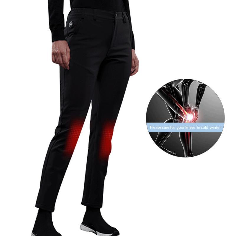 Pantalon chauffant Intelligent d'hiver en plein air USB pantalon chaud Rechargeable à température constante pour Parents