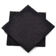2 шт. фильтр с активированным углем для электронных припоя экстрактор дыма Пена Губка пропитанный воздухом лист черный 13 см x 13 см