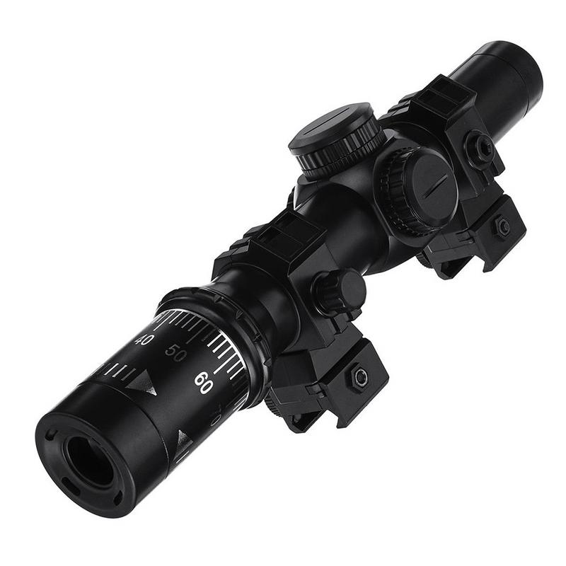 8X Red Dot Sight Magnifier Scope Aiming Accessories For Water Bomb Launcher Primary Hunting For Gel Ball Blaster impact wrench