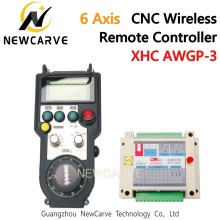 XHC AWGP-3/5AA CNC Wireless Remote MPG Controller Pendant FANUC /Manual Pulse Generator For 5,6 Axis CNC Router NEWCARVE fanuc a860 0203 t001 encoder mpg pulse generator electronic handwheel original authentic hand pulse generator a860 0203 t001
