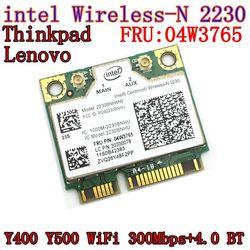 Intel Centrino Wireless-N 2230 wireless Bluetooth 4.0 Wifi N2230 300M mini pcie card 04w3765 for   Y400 Y500 intel 2230