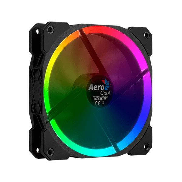 Internal Fan RGB Aerocool Orbit 12x12mm Ultraquiet Lighting RGB