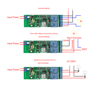 Image 3 - 2CH AC85 250V אלחוטי מתג טיימר טלפון APP שלט חכם Wifi מתג אוניברסלי אוטומציה מודול לבית חכם