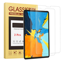 2 Pcs/Bag Tempered Glass Screen For iPad Pro 11 inch 2018 Cover Funda Tablet Model A1980 Protector HD Clear Film Toughened Guard