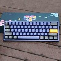 Акко душка один 2 Мини вишневый выключатель MX клавишные колпачки из ПБТ 60% механическая клавиатура профессиональная игровая клавиатура