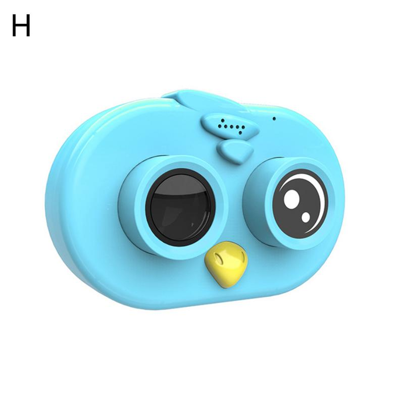 Toy Camera Children Electronic Play Mini Sports Toy Camera WIFI HD Small SLR Dual Lens Camera For Kids Record Good Moments