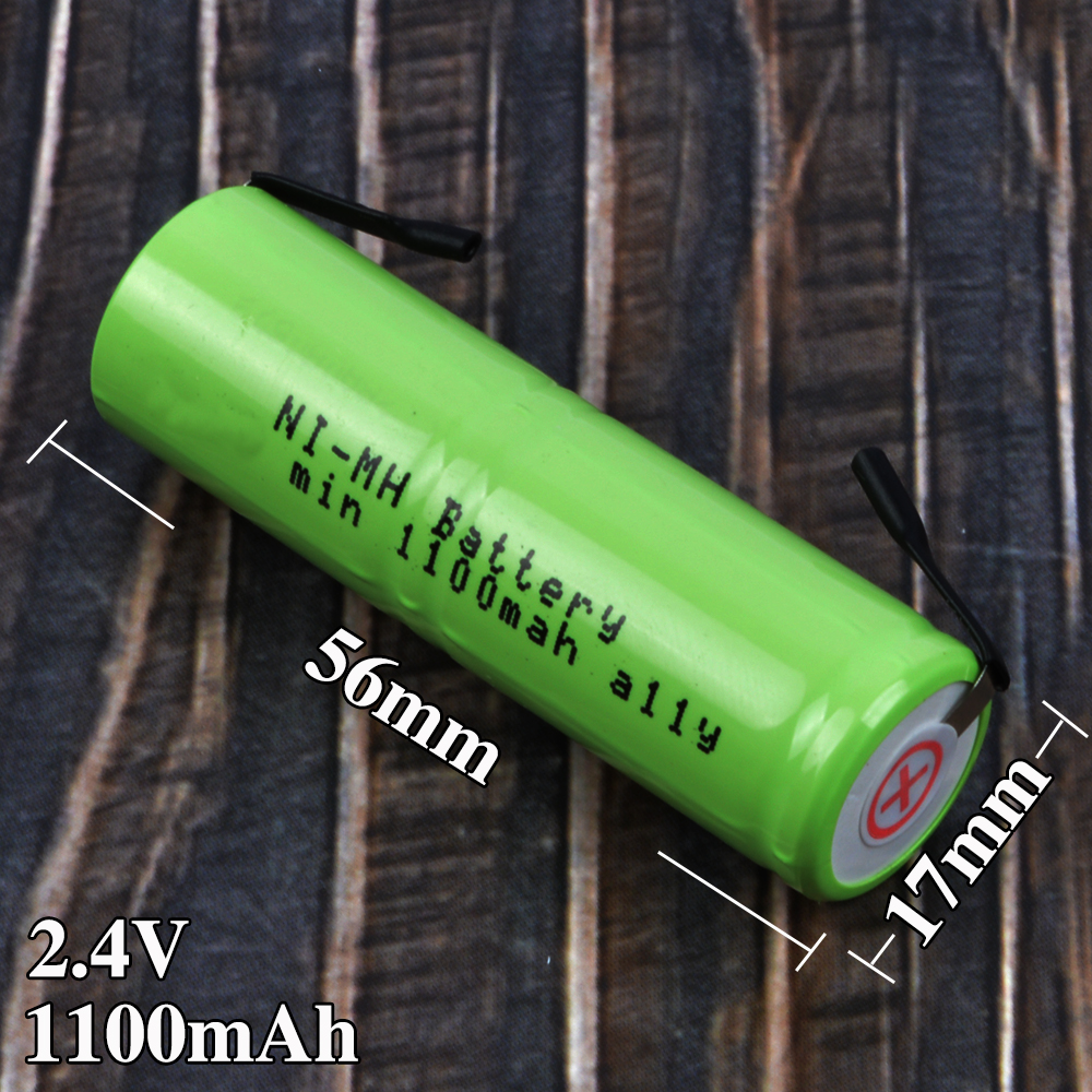 56170 Replacement Battery for Braun Oral-B Sonic Complete 56mm x 17mm 2.4V 4717 Electric Toothbrush Batteries image